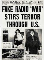 attacco ufo, giornale