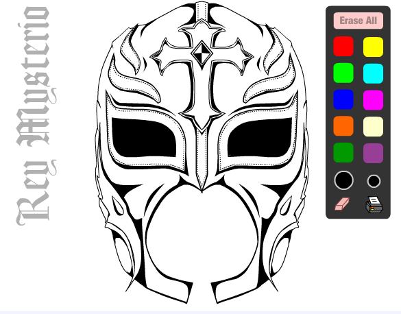 Desenhos De Wrestling Para Colorir Desenho Do Lutador ... - photo#31
