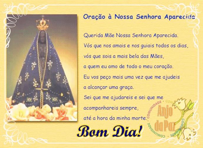 ORAÇÃO+NOSSA+SENHORA+APARECIDA (image