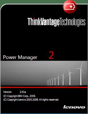 JaLooNz the Webbie: Lenovo Power Manager 2