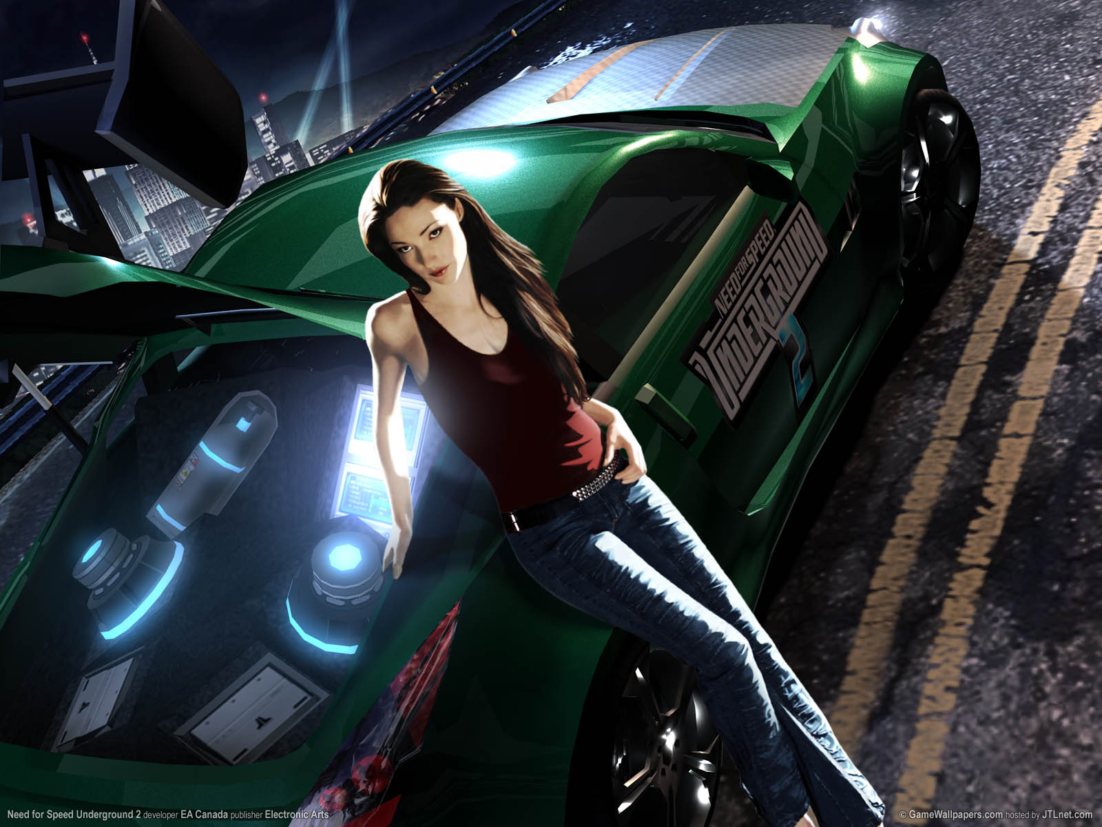 Need For Speed Underground 2 Wallpaper Collection Games