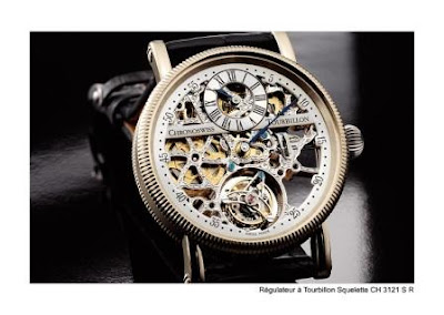 Chronoswiss Regulator skeleton tourbillon watch