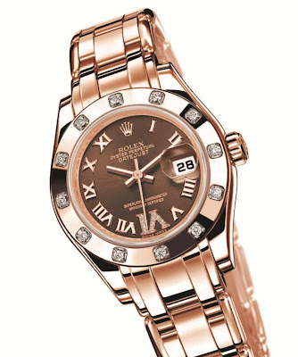 Rolex Lady-Datejust Pearlmaster watch replica