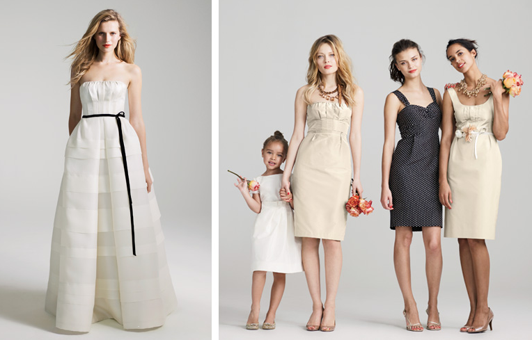 Pink Orchid Weddings: J.Crew Wedding Collection At The