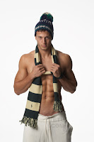 hunk male model Michael Lewis TETU