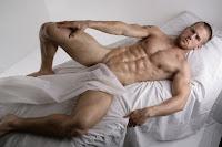 male model Adam Coussins