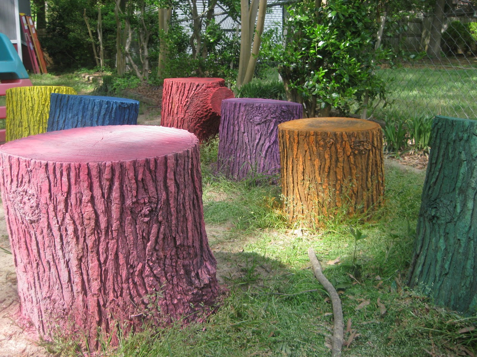 Living life well: 88. seal the tree chairs