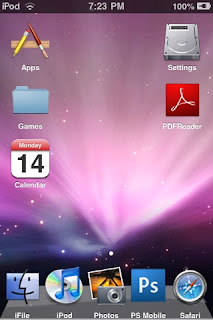 Mac OS X Leopard iPhone iPod Touch Theme   Free iPhone Themes