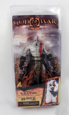 Kratos God of War II  Flaming Blade of Athena