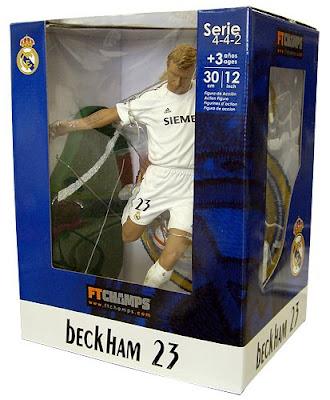 FT Champs David Beckham Action Figure