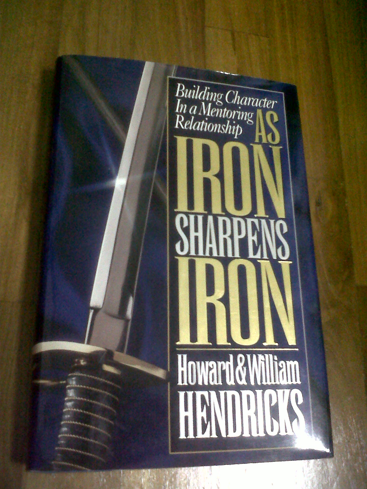 As iron sharpens iron book