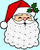 Image: Free Santas Beard Advent Calendar