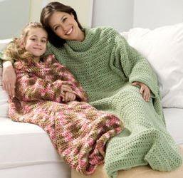 Image: Free Crochet Snuggie Pattern