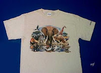 animal world t shirt wildlife