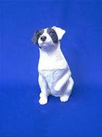 jack russell terrier figurine sandicast
