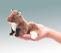 fox finger puppet folkmanis