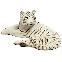 sandicast white tiger figurine