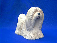 lhasa apso dog figurine