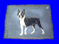 boston terrier blanket throw
