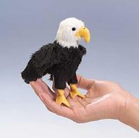 eagle finger puppet