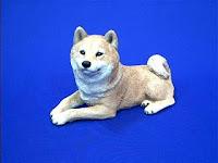 sandicast shiba inu figurine original size
