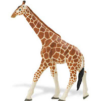 giraffe animal figurine toy safari wildlife wonders