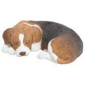 beagle figurine sandicast snoozer sz005
