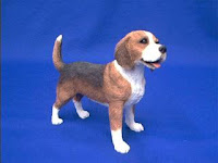 beagle figurine sandicast midsize