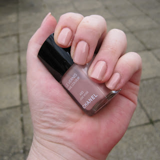 Chanel Jade Rose Nail Varnish