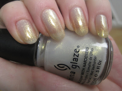 China Glaze White Cap