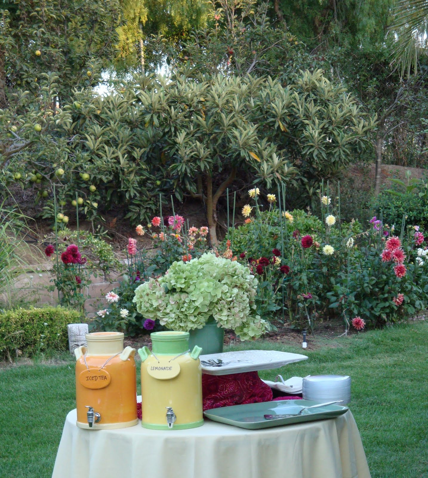 Entertaining From An Ethnic Indian Kitchen: Garden Party II