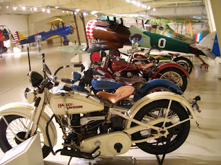 Antique motorcycles at Owl's Head.