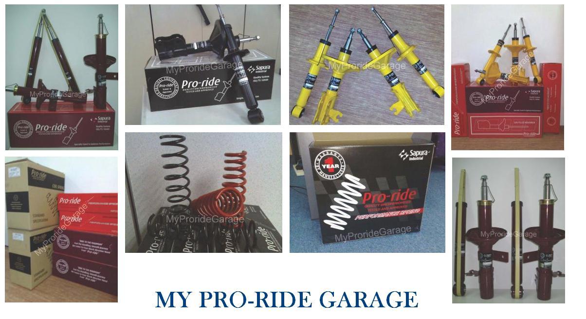 Proride Shop Garage: Barang Proride