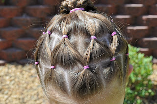 Princess Piggies Hairstyle For Multiple Days