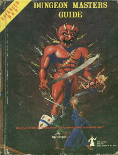 DMG Dungeon Masters Guide Advanced Dungeons Dragons Gary Gygax