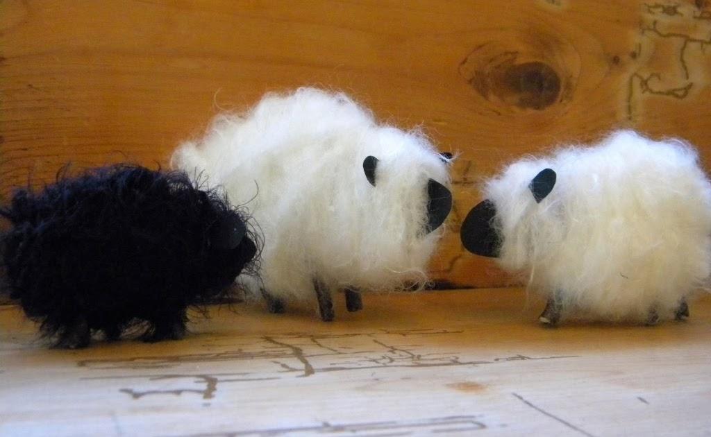 Homework A Creative Blog Etceteras Fuzzy Yarn Sheep