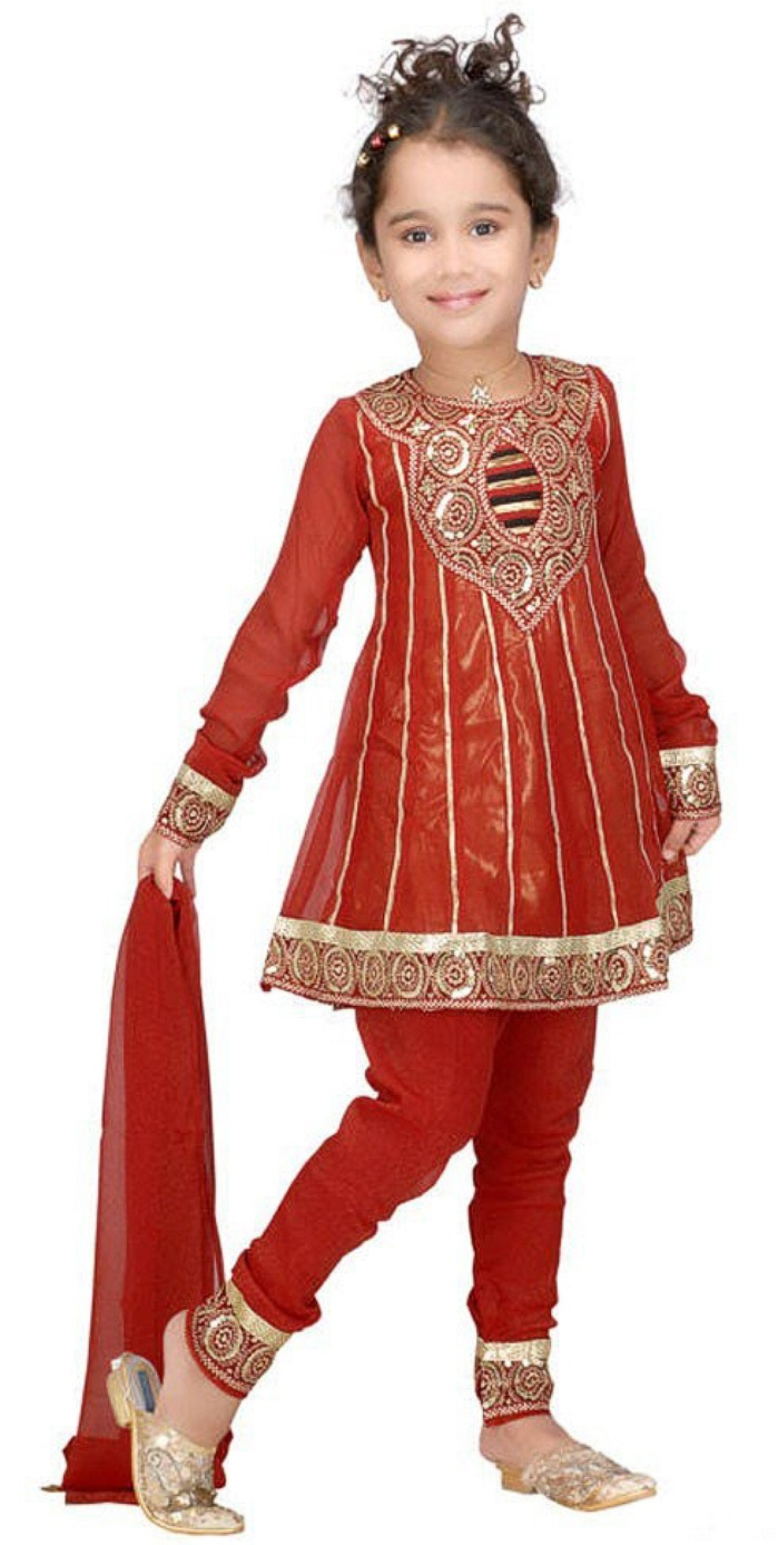 Latest kids dresses include many dresses like lehenga, kurta, pants shirts, jeans shirts other casual and formal dresses. See all of the latest kids dresses for boys and girls here.