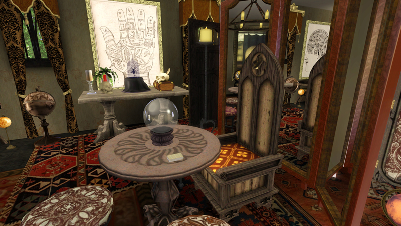 Fortune Teller Room Decor