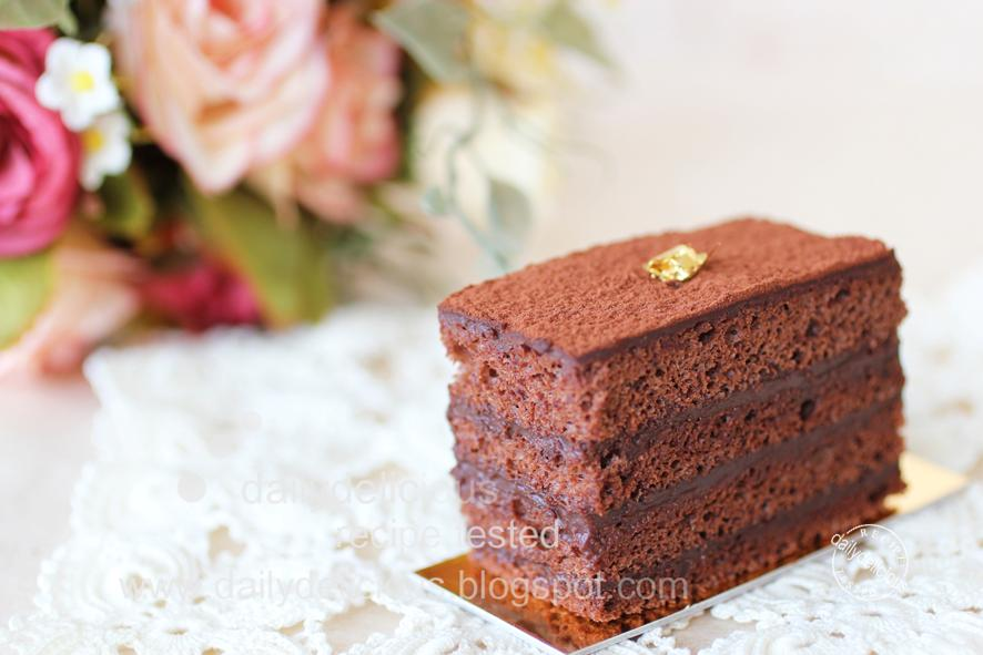 Chocolate Marquise Cake Recipe