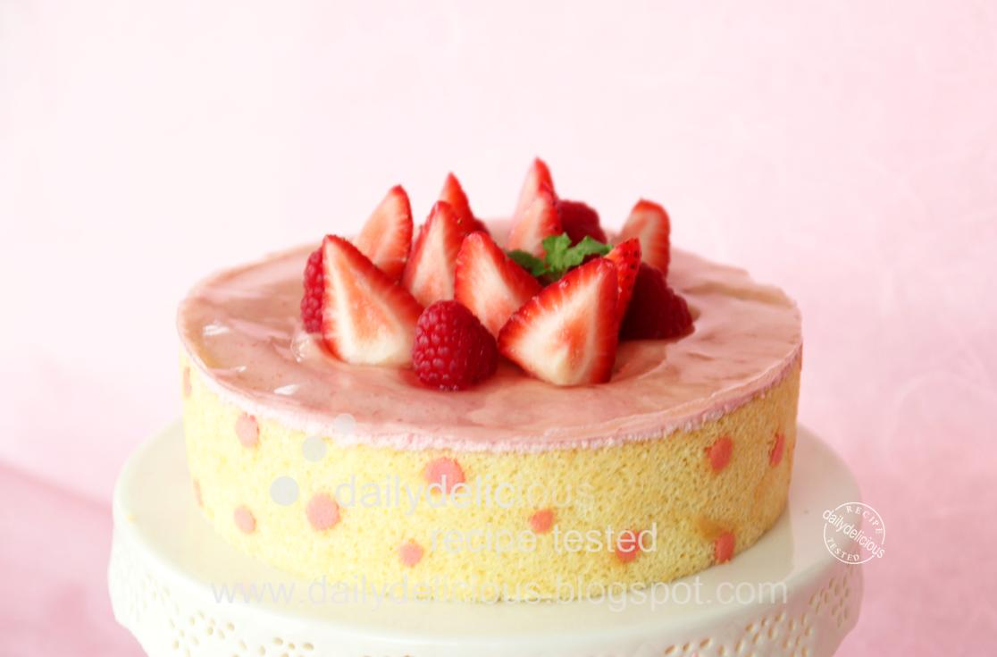 Raspberry Mousse Filling Recipe For Cake