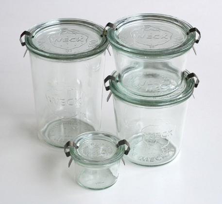 Dealsforhome Weck Glass Clamp Jars 27