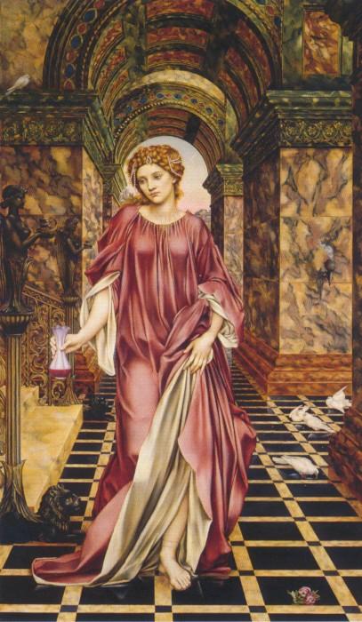 Inspired by Art Herstory: Evelyn Pickering de Morgan's 'Medea'