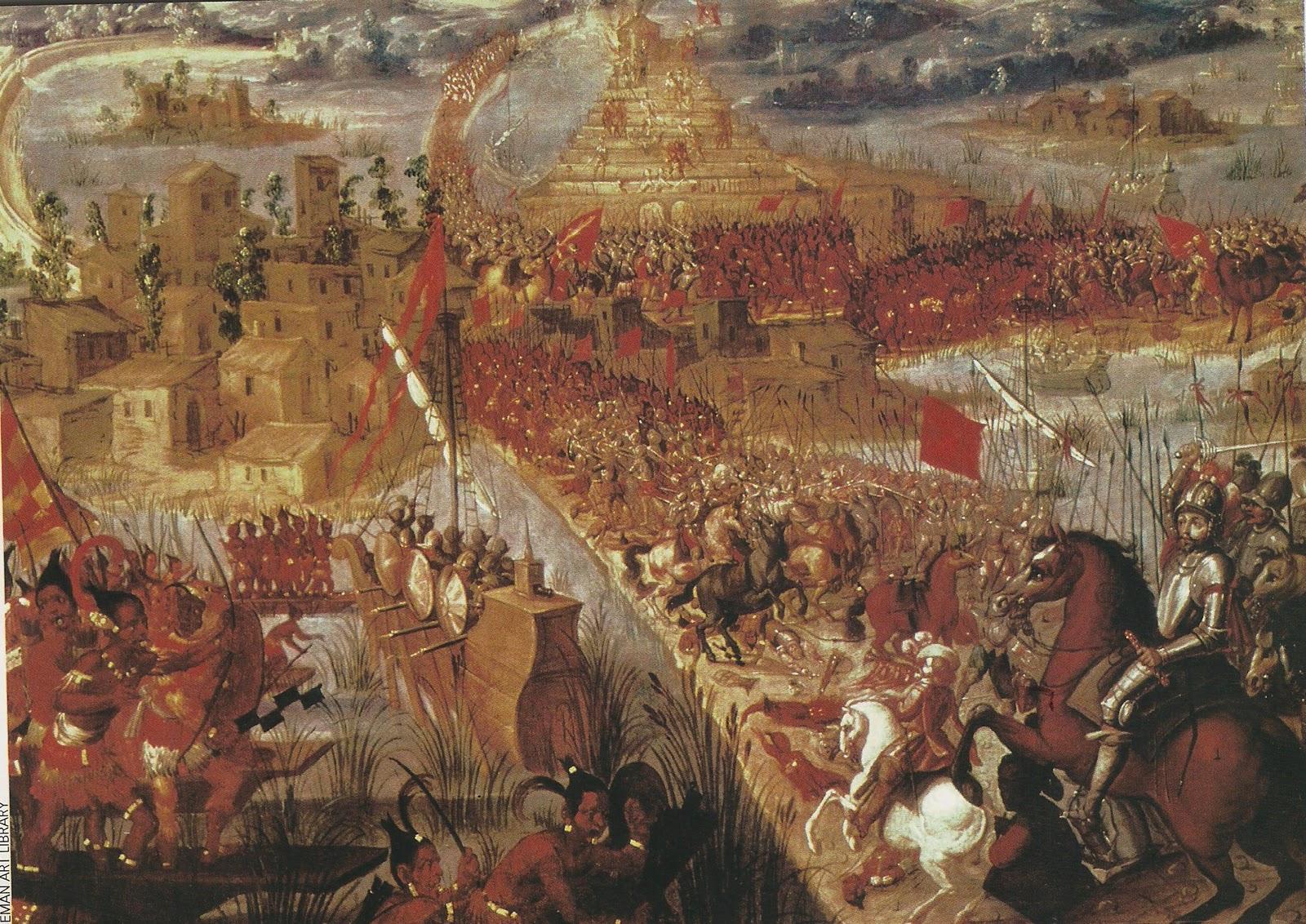 1521: Hernan cortes , la conquista de mexico - la Historia sin Historietas