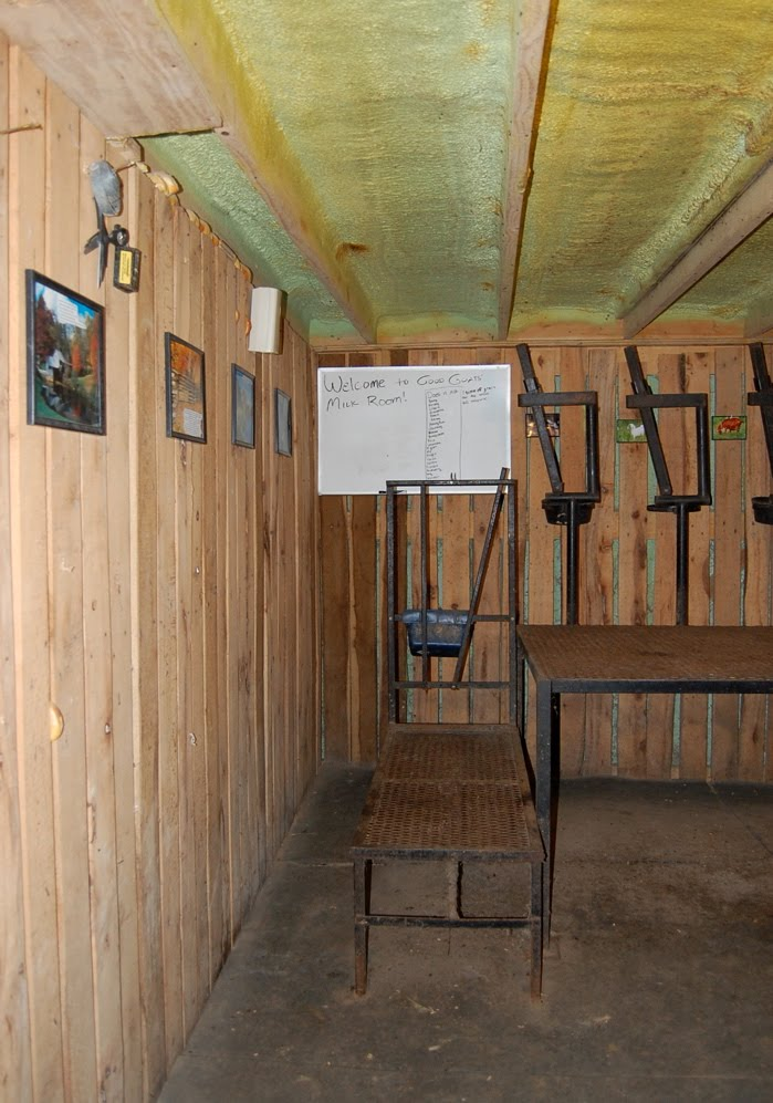 Good Goats Tour The Milk Room