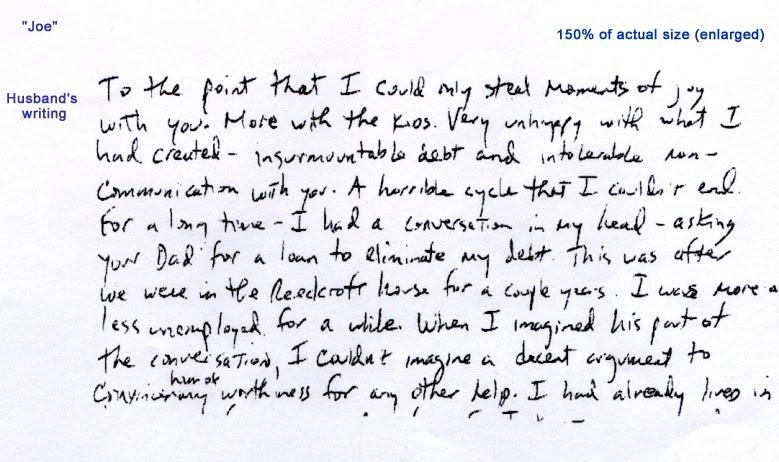 handwriting analysis test personality test