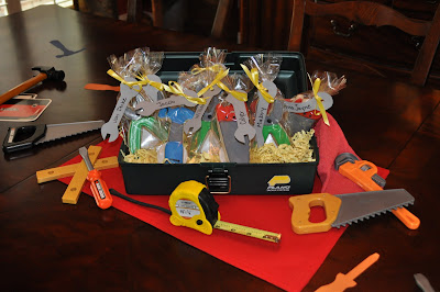 Mustard Seeds Tool Time Birthday Party