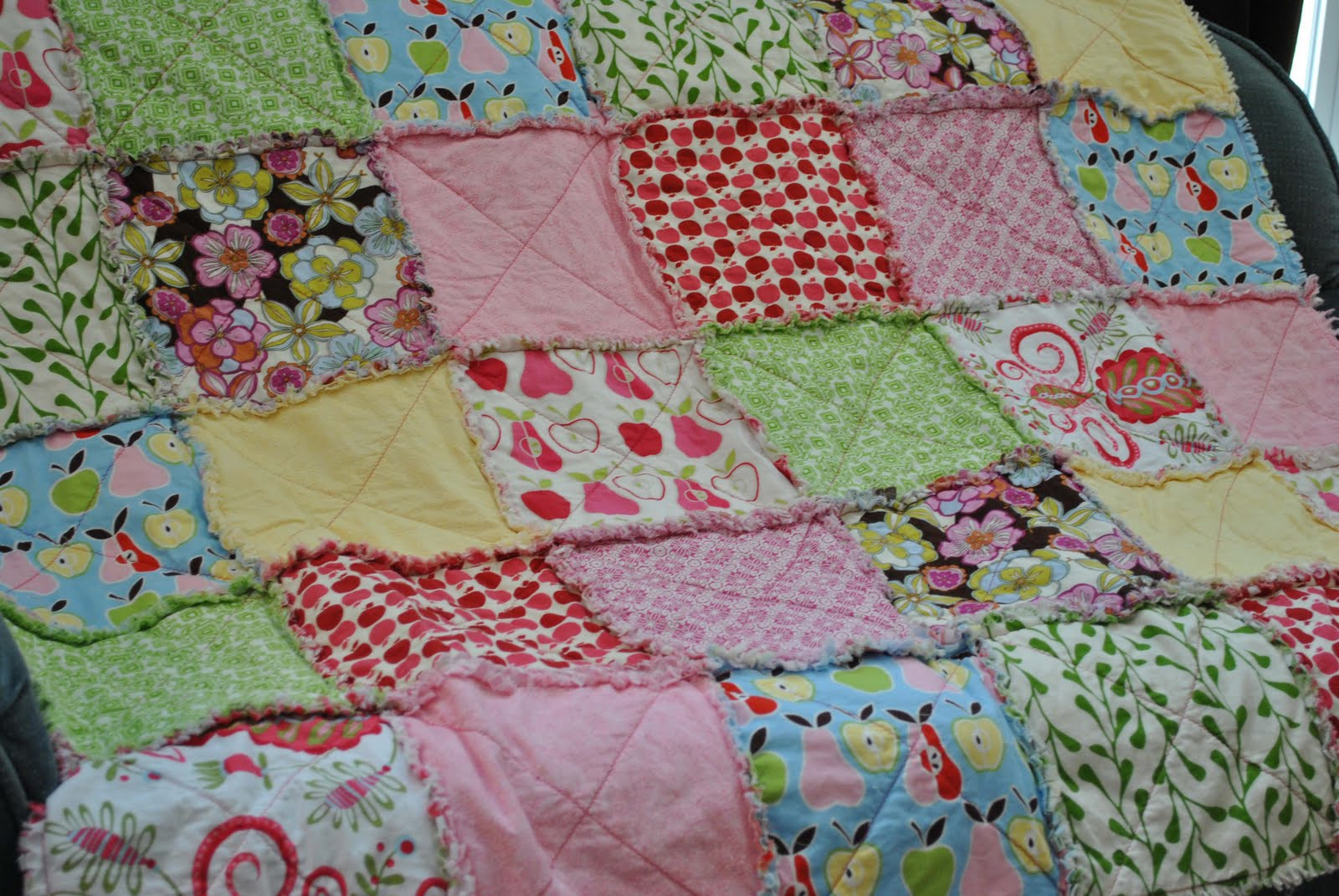 Celebrating Today: How to Make a Rag Quilt