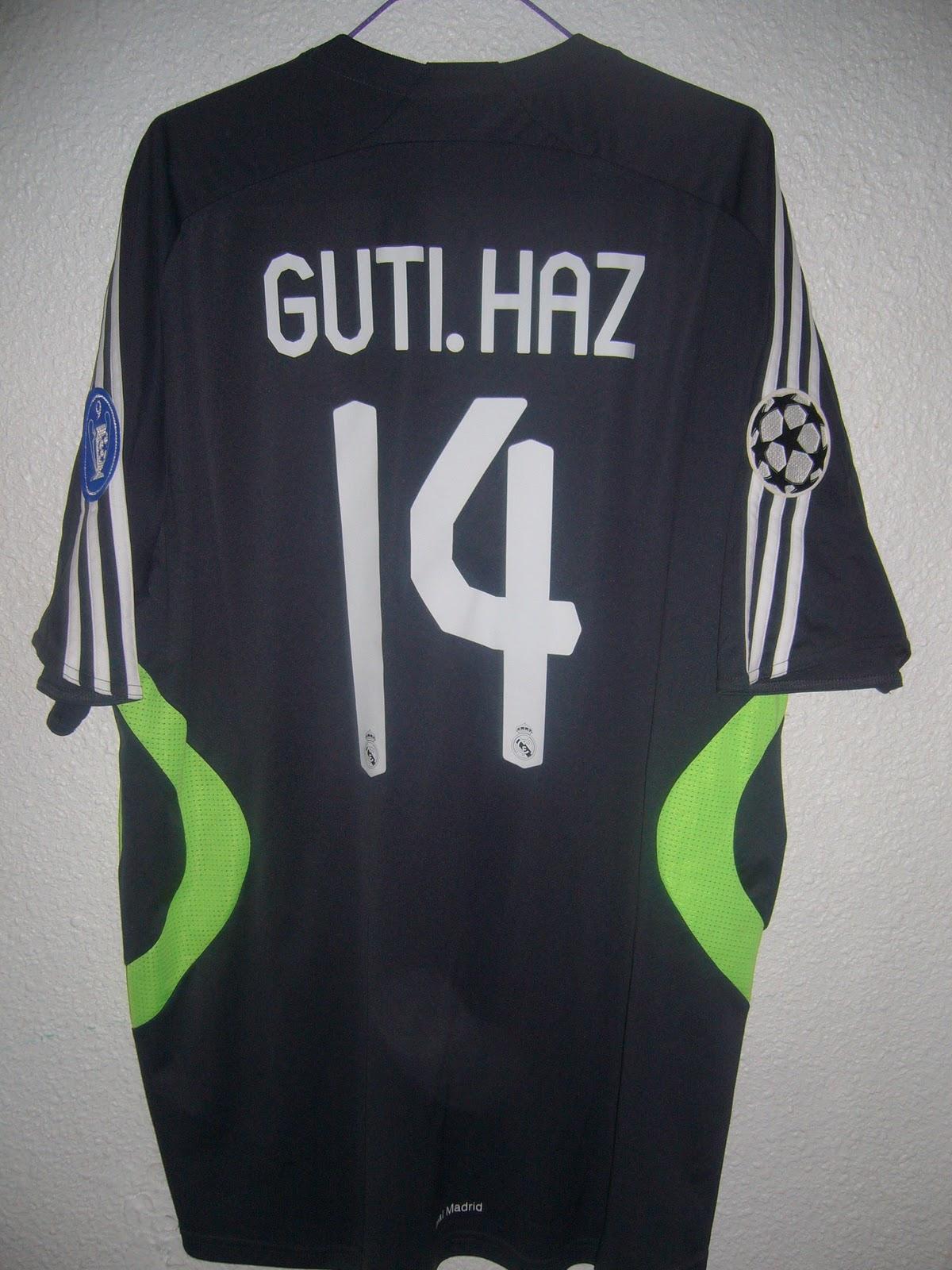 b980f217e4e14 Mi colección de camisetas de fútbol  2ª Camiseta Real Madrid 2007 ...