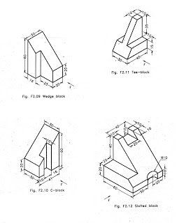 Isometric Projection Exercises