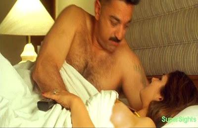 Bollywood topless scene